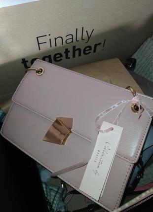 Нежная сумочка с цепочкой