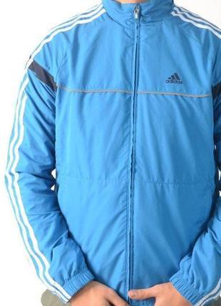 Спортивная куртка, ветровка  беговая  кофта adidas оригинал
