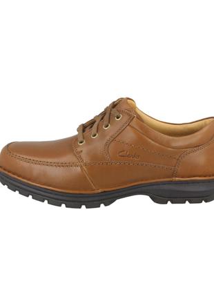 Натур. кожаные туфли clarks