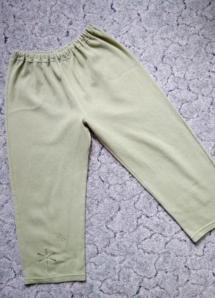 🎅-21% до 21.01.21!!! домашние штаны капри р.xl