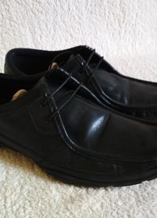 Туфли черные классика mark & spencer размер 42