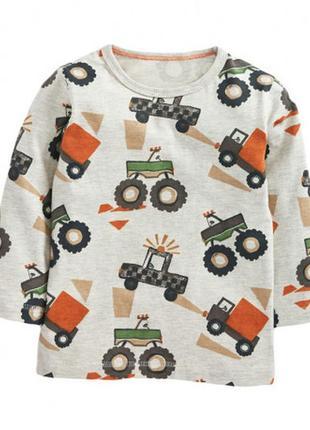 Кофточка для мальчика автомобили, little maven, 92-122