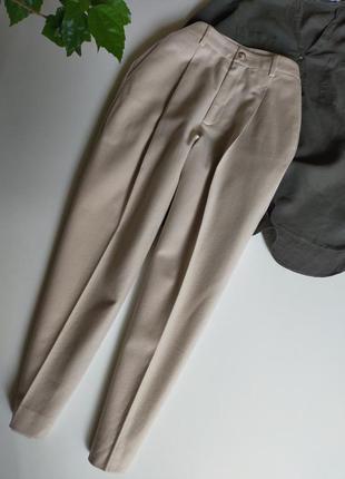 Укороченные зауженные брюки sisley