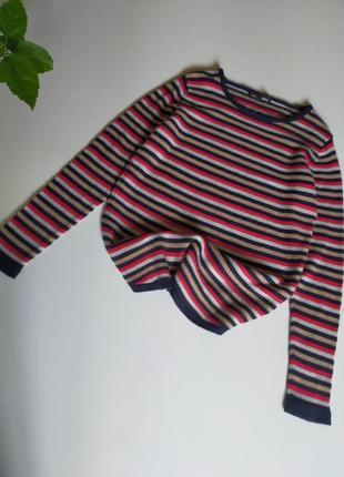 Полосатый свитер esprit шерсть кашемир