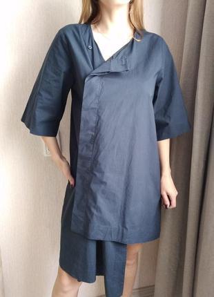 Темно синее платье cos размер38 м