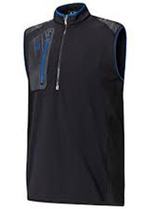 Жилет р.l-xl adidas спортивный теплый флис мужской, замеры