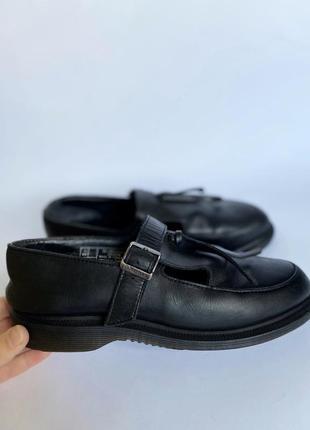 Туфли/ лоферы dr. martens кожаные оригинал