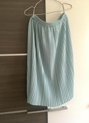 Волнистая юбка миди