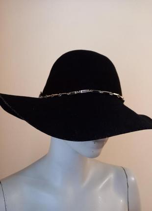 Шляпа 100%шерсть