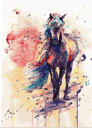 """Картина по номерах """"фантастичний кінь"""""""