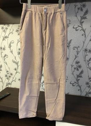 Джинсы mom, брюки