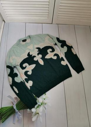 Шикарный теплый свитер размер с - м topshop в составе ангора