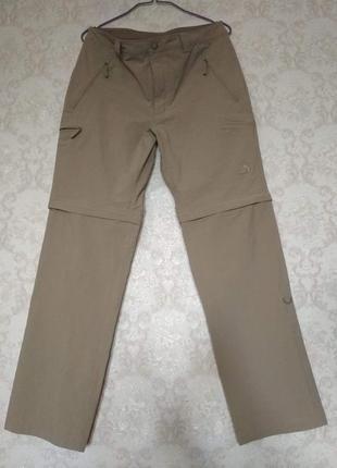 The north face летние штаны шорты трансформеры оригинал m