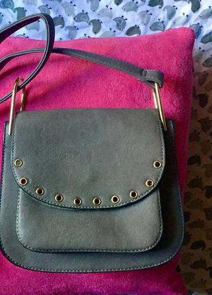 Женская сумка с длинным ремнём