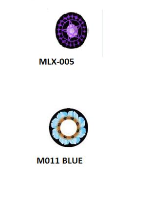 Цветные контактные линзы (нулевки)