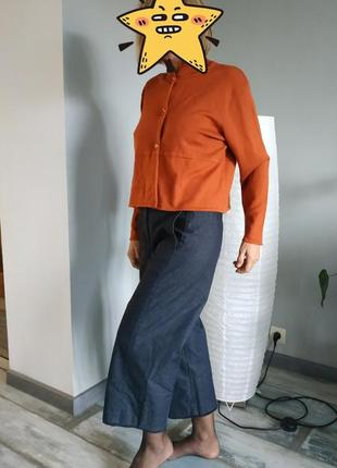 Брендовые джинсовые кюлоты marc o polo