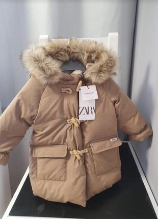 Пуховик куртка zara