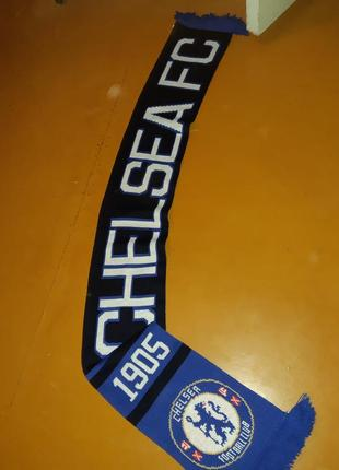 Оригинальный футбольный шарф chelsea