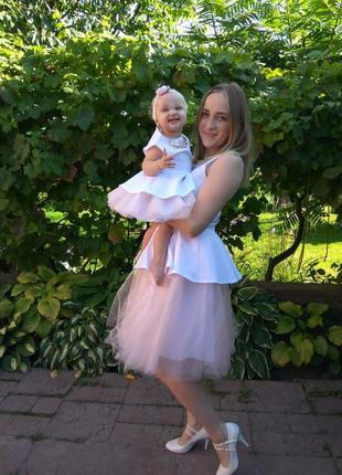 Платье, плаття, сукня, фемілі-лук.