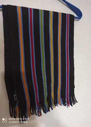 Яскравий шарф
