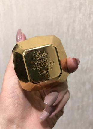 Paco rabbane lady million парфюм