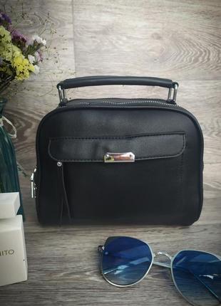 Новая стильная качественная сумка кроссбоди кожа pu / клатч