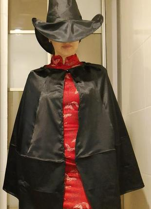Карнавальный костюм ведьма на хэллоуин