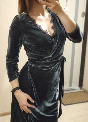 Халат, домашнє плаття на запах