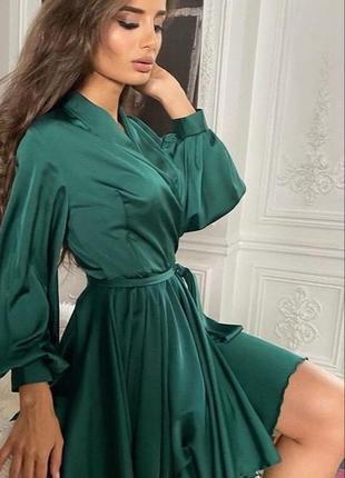 Шёлковое платье от 7km ❤