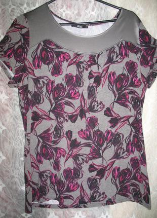Летняя блузка-футболка фирмы m&s