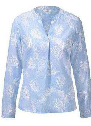Модные вещи для пышных дам стильная рубашка tcm tchibo