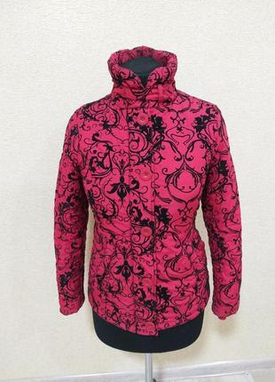 Курточка с бархатными узорами
