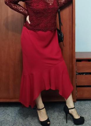 Красное платье от dorothy perkins. шикарный экслюзивный наряд