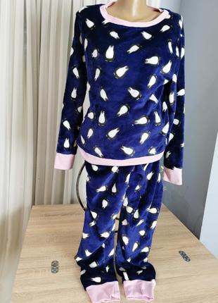 Пижамка флисовая размер m.