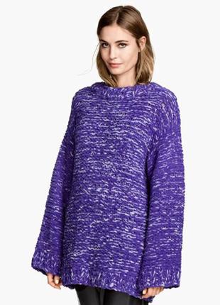 H&m свитер, джемпер оверсайз, объемный