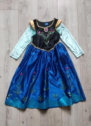 Плаття принцеса анна 6-7 років