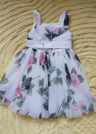 Платье dolce&gabbana   2-3 года, оригинал, лето