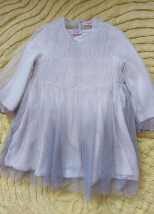 Платье il gufo  2  года  тёпленько осень