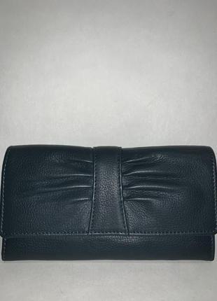 Англия! большой женский кожаный фирменный практичный кошелёк hotter.