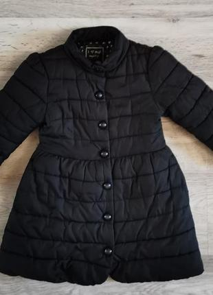Куртка демисезонная удлиненная на флисе next