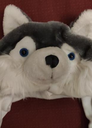Шапка новогодняя волк