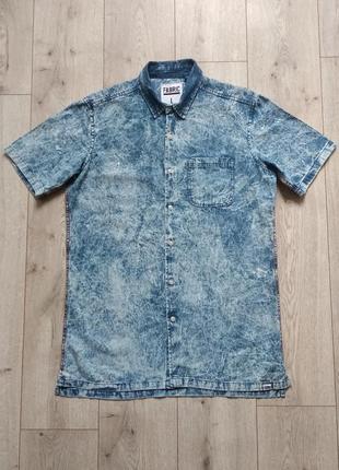 Сорочка джинс розмір m