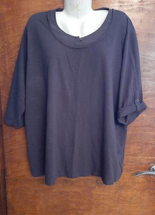 Трикотажная блузка размера 58-60.