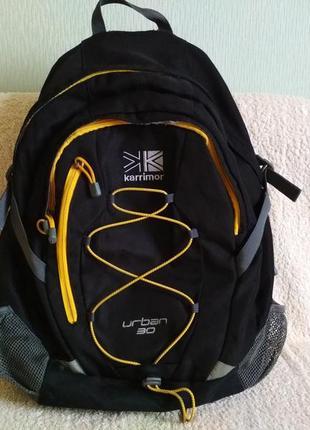 Рюкзак черный karrimor