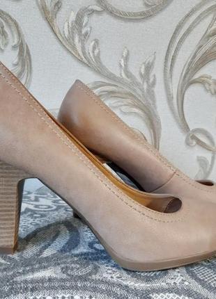 Бежевые туфли graceland