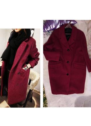 Пальто шерстяное. демисезон/холодная осень
