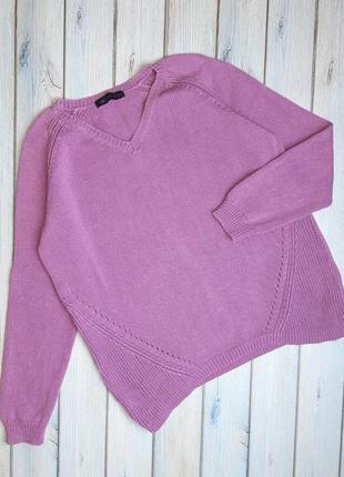Модный лиловый женский свитер marks&spencer, размер 50 - 52