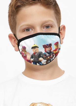 Детская защитная маска (многоразовая)