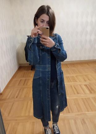 Дуже крутий джинсовий плащик🥰