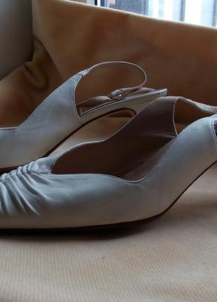Туфли с открытой пяткой gibellieri 41 размер